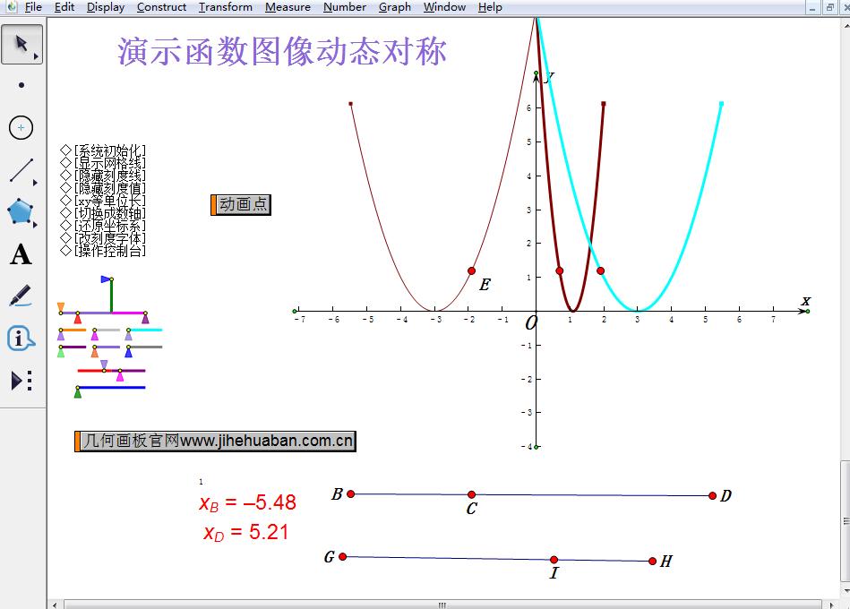 函数动态对称