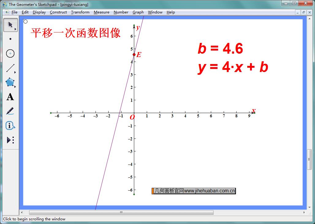 平移函数图像