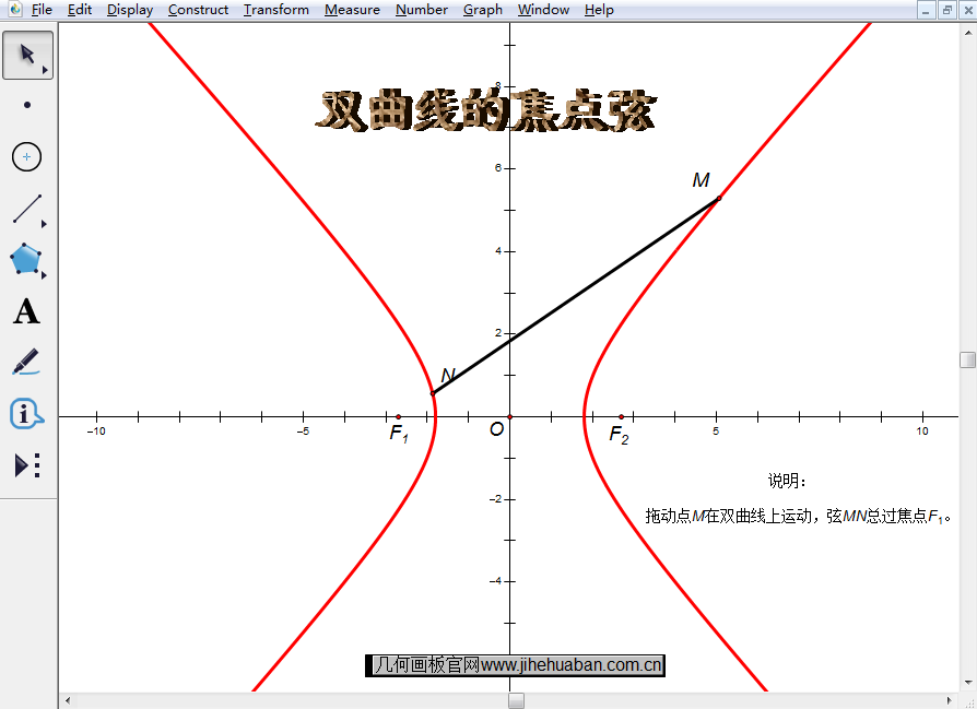 双曲线的焦点弦