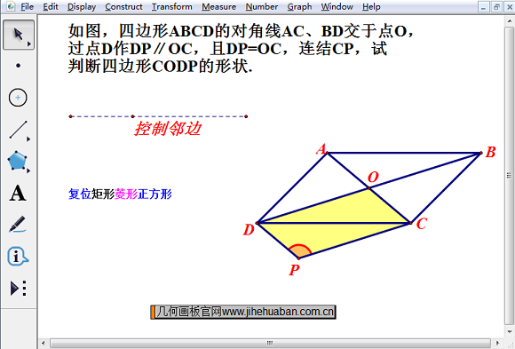 特殊四邊形之間的變換