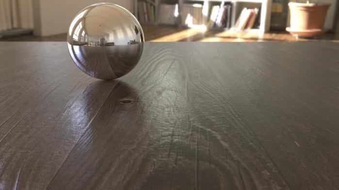 创建逼真木质表面