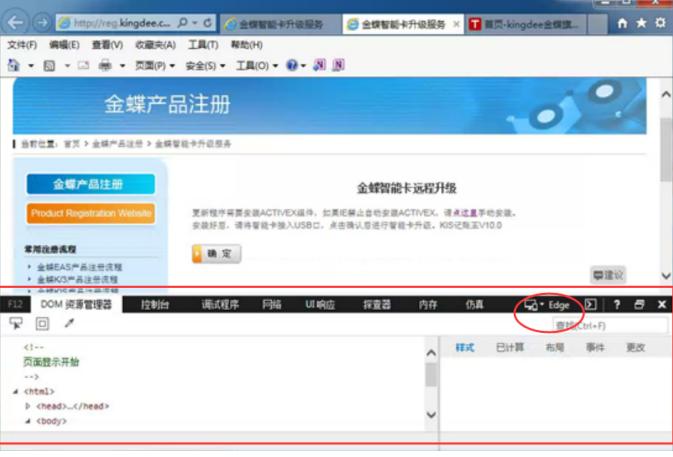 "金蝶KIS记账王选择Edge""7"""