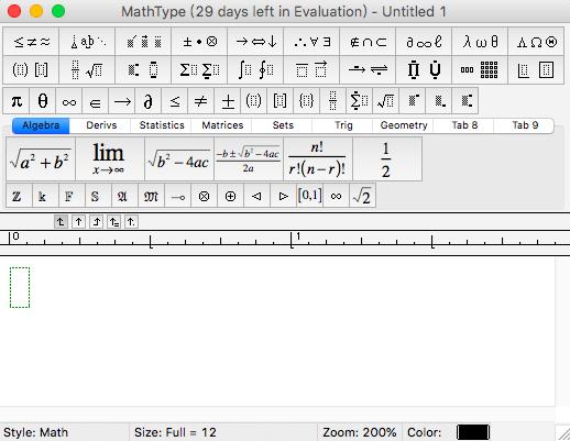 如何安装MathType7 Mac版