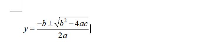 怎么在Word上编辑数学公式?教你一招