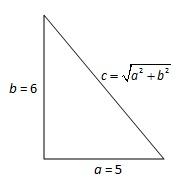 直角三角形及三边