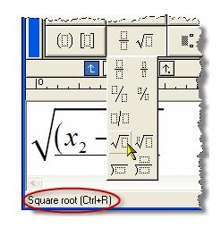 MathType快捷方式