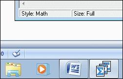 MathType图标显示
