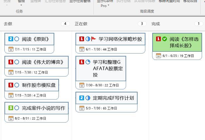 图11:完整任务表