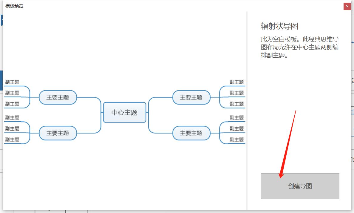 图2创建导图