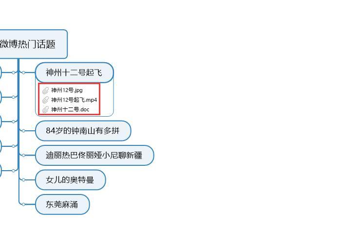 图6:显示附加文件链接