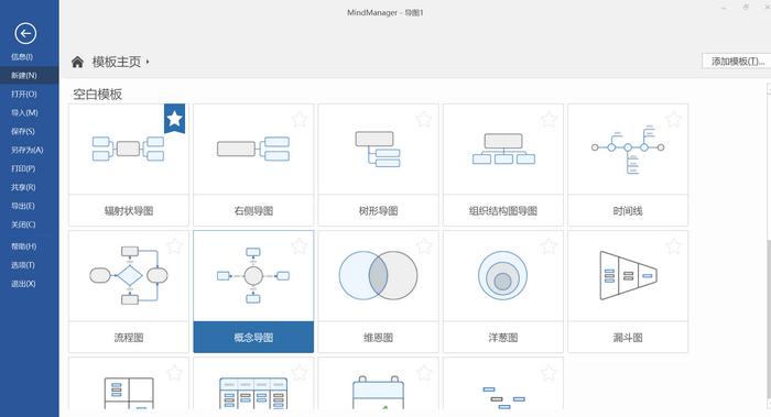 图五:MindManager软件美化界面