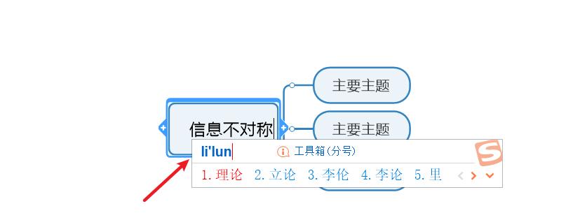 图3:填入内容