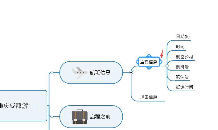 图4:启程信息