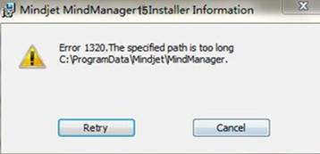 MindManager安装失败
