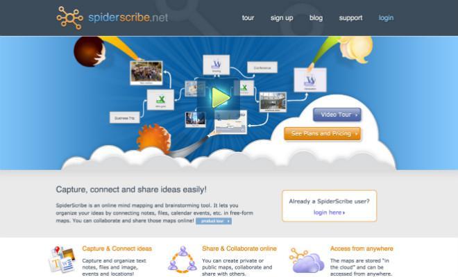 SpiderScribe