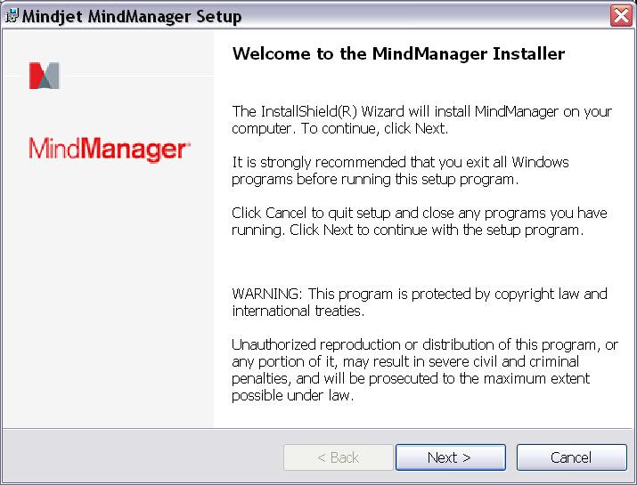 MindManager 15安装教程