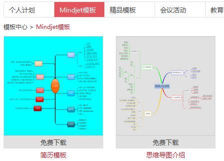 Mindmanager模板下载