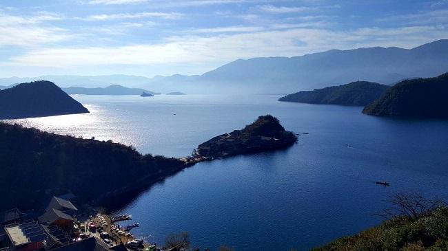 旅游思维导图泸沽湖