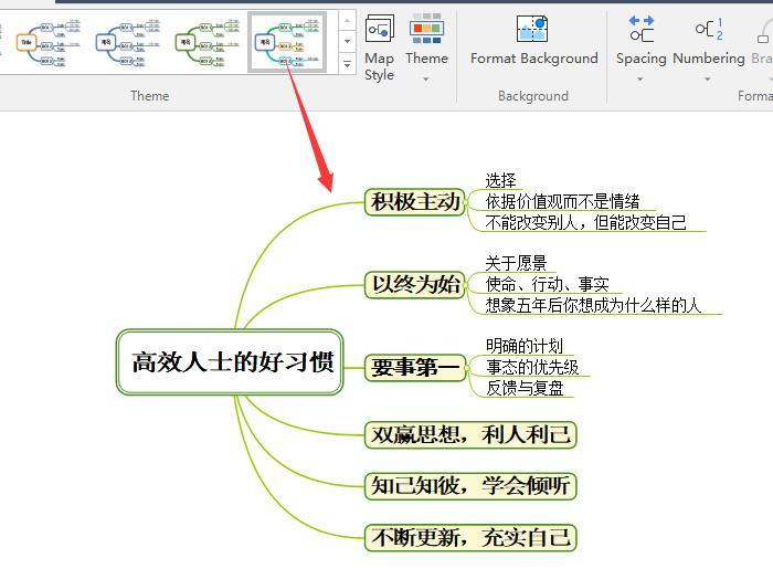 图5:默认风格1