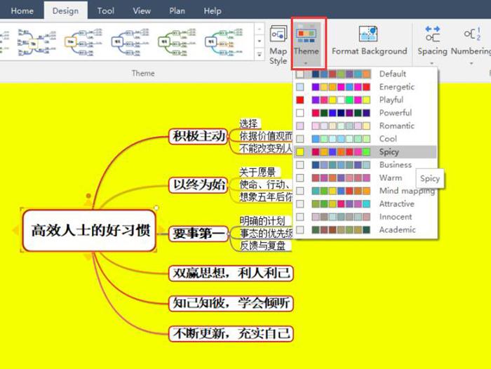 图9:主题色彩风格