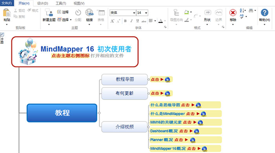 MindMapper 16标准版主页