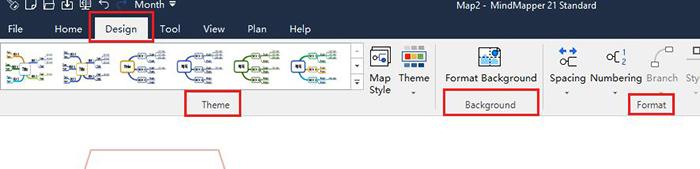 图3:设计工具栏