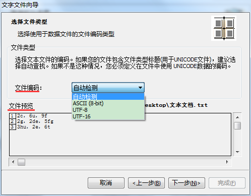 文件类型设置