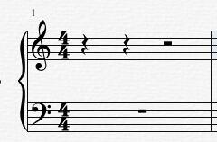 四分音符休止符