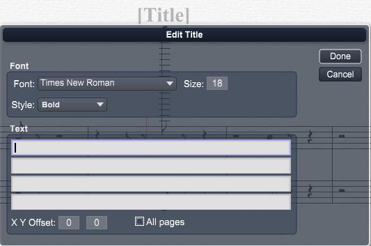 Overture 教程之如何在首页添加标题