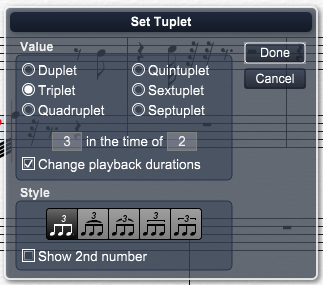 Overture教程之怎么设置5连音、15连音