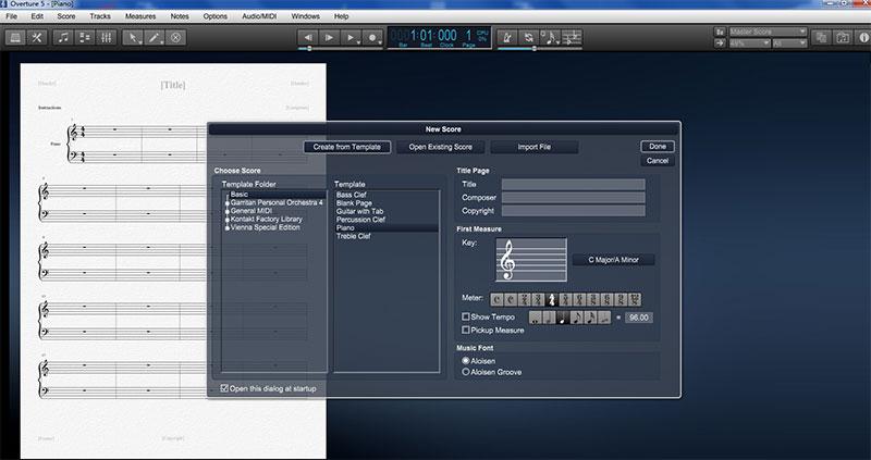 教你使用Overture5打开和新建文件