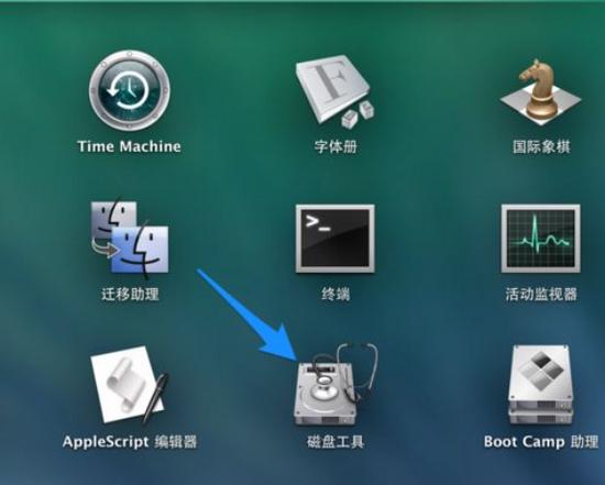 mac的磁盘工具