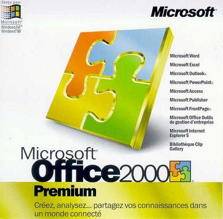 Office 97/2000的Word和Excel