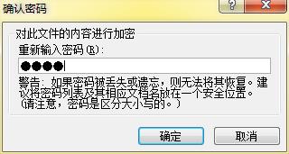 Word文档的密码设置框