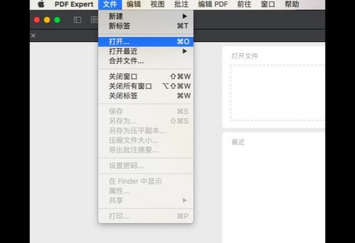 打开一个pdf文档