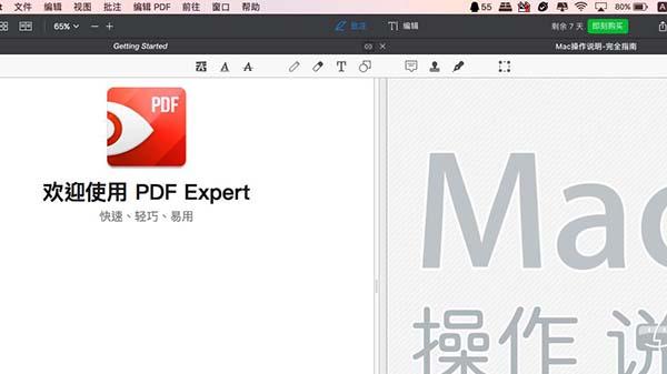 两个PDF文件在同一界面