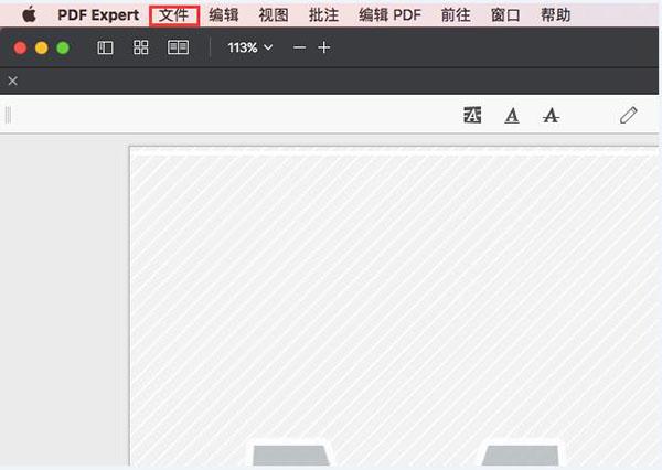 打开PDFExpert与PDF文档