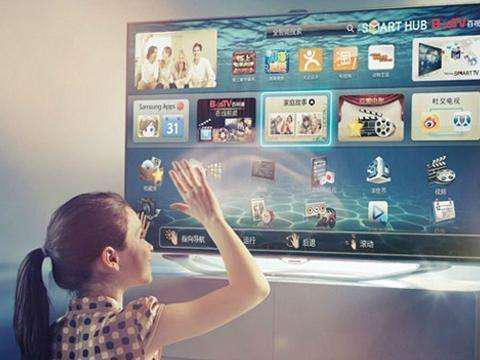 手势控制电视产品