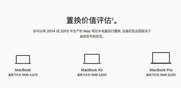Mac以旧换新活动2