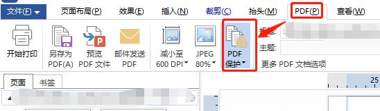 wps设置高级打印设置保护界面