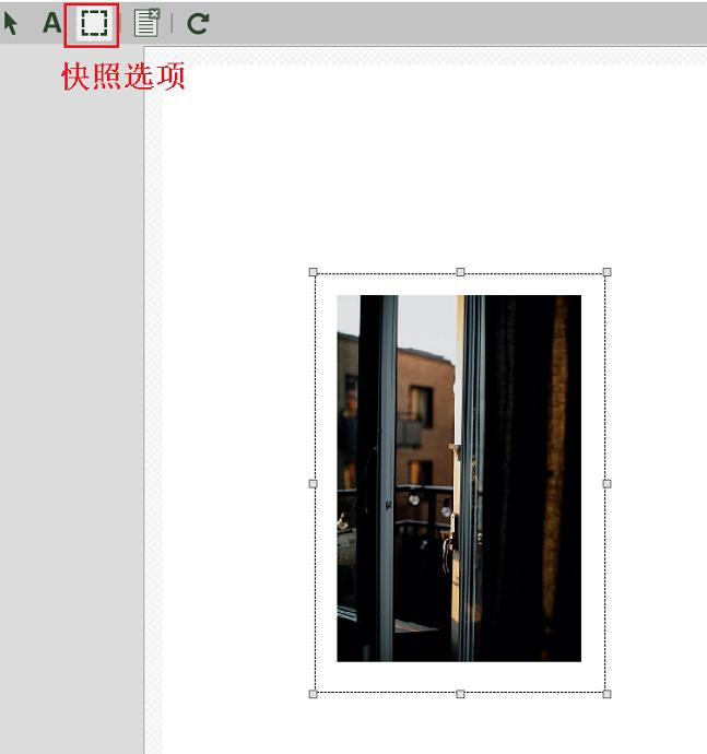 图2:选中文档内容