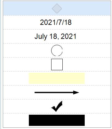 图2:使用其中的两个便笺