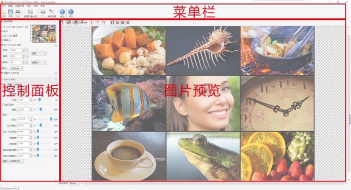 PhotoZoom Pro 8新手入门:界面分析
