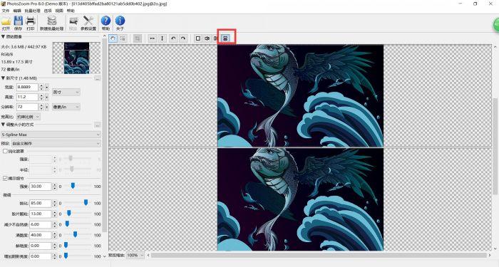 如何使用PhotoZoom预览功能