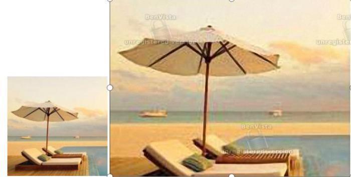 图7:原图与PhotoZoom Pro 8无损放大图片对比