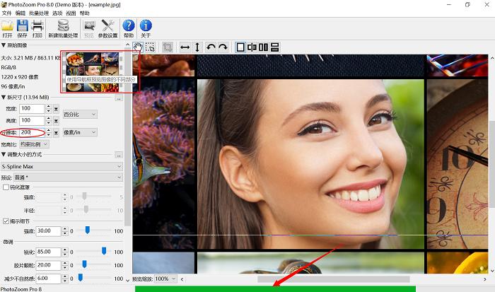 图片放大软件_PhotoZoom图片无损放大软件