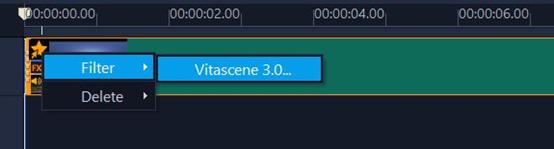 选择VitaScene特效工具