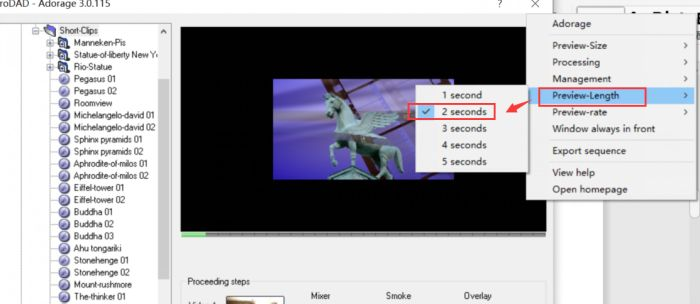 视频长度设置