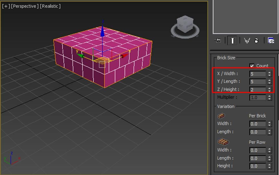 图6:设置砖块数量