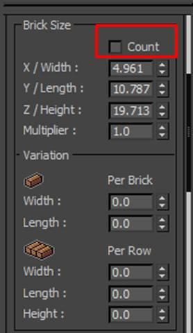 图5:砖块数量参数